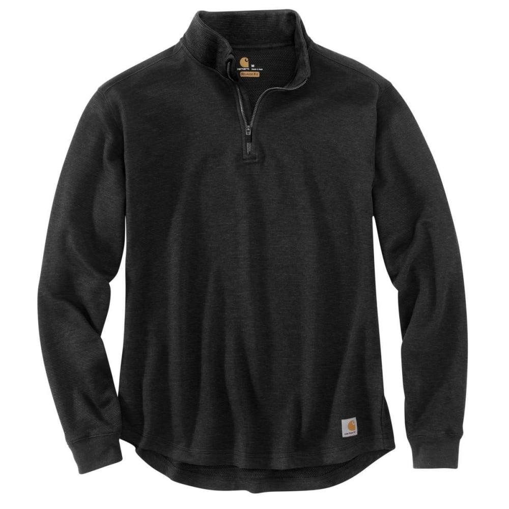 CARHARTT Men's Tilden Quarter Zip Pullover - 001-BLACK