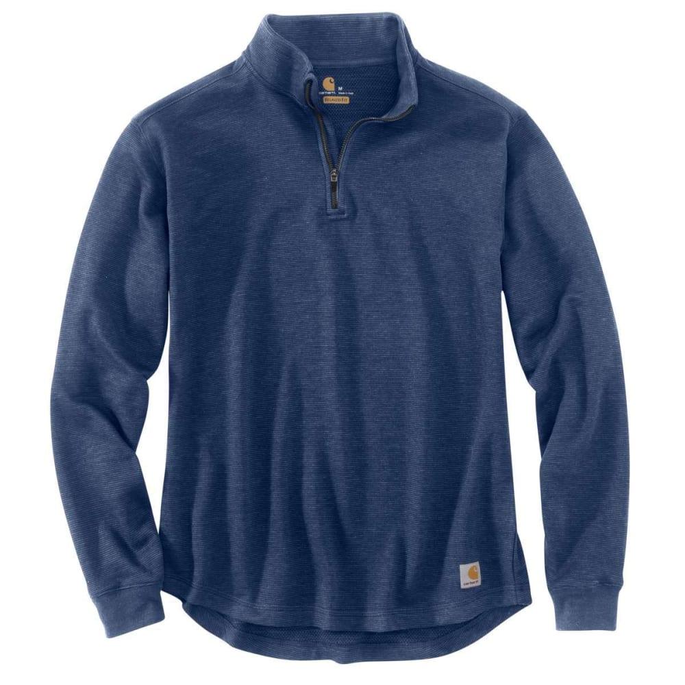 CARHARTT Men's Tilden Quarter Zip Pullover - 988-COBALT BLUE