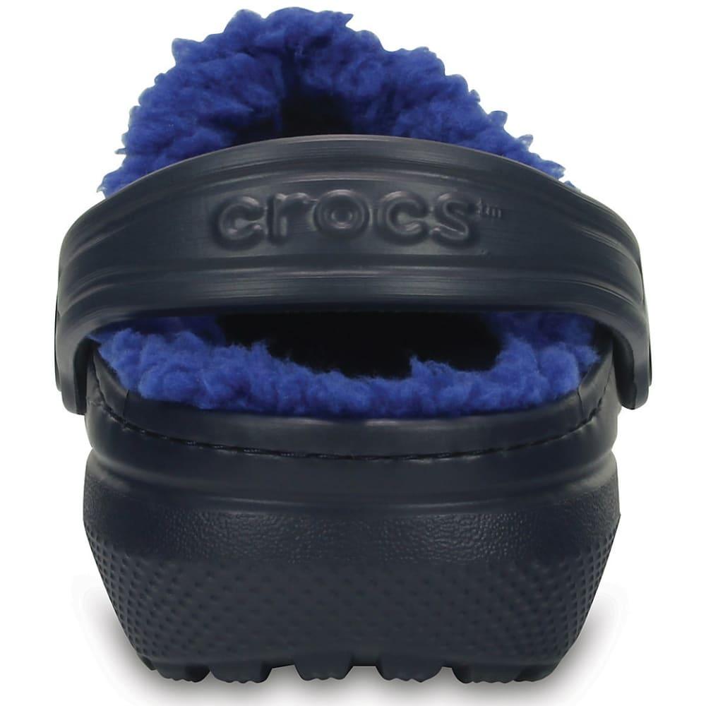 CROCS Kids' Classic Lined Clogs, Navy/Blue - NAVY