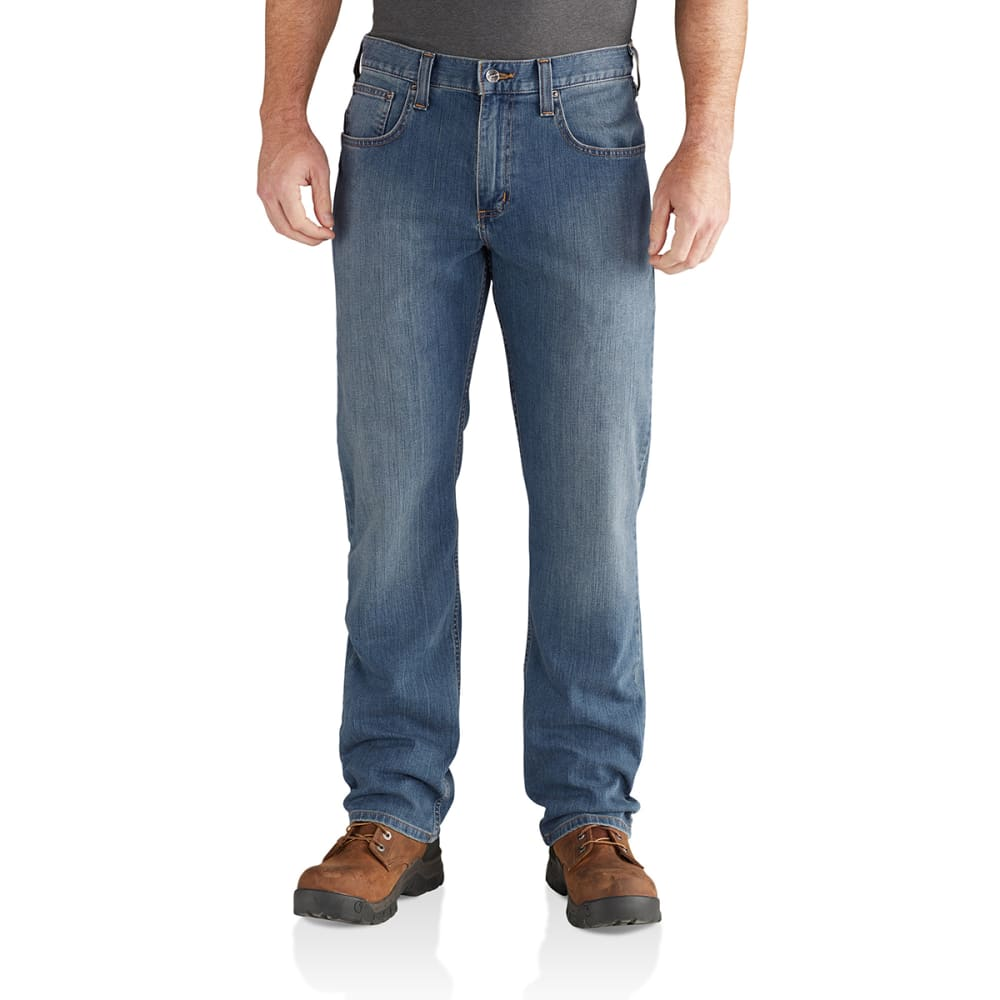 CARHARTT Men's Rugged Flex Relaxed-Fit Straight-Leg Jeans - COLDWATER 964