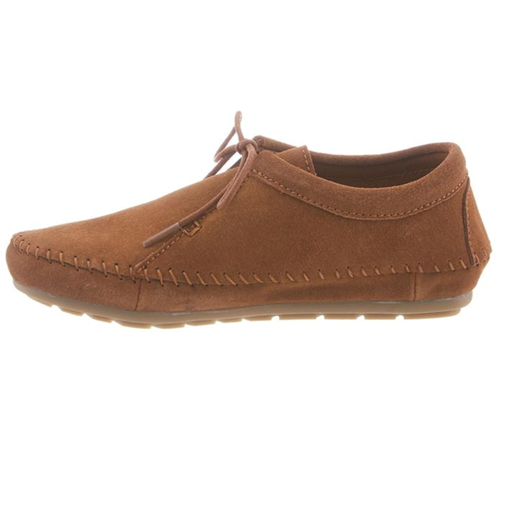 BEARPAW Women's Ellen Microsuede Shoes - HICKORY II