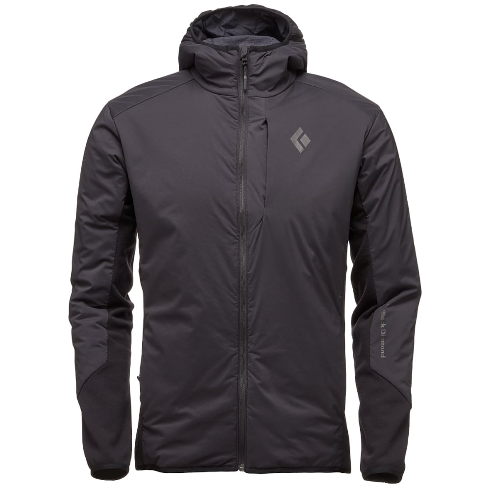 BLACK DIAMOND Men's First Light Hybrid Hoody - SMOKE