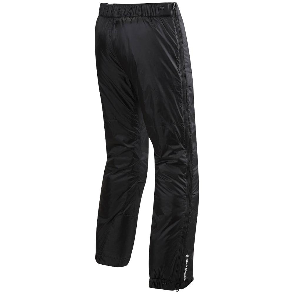 BLACK DIAMOND Men's Stance Belay Insulated Pants, Black - BLACK