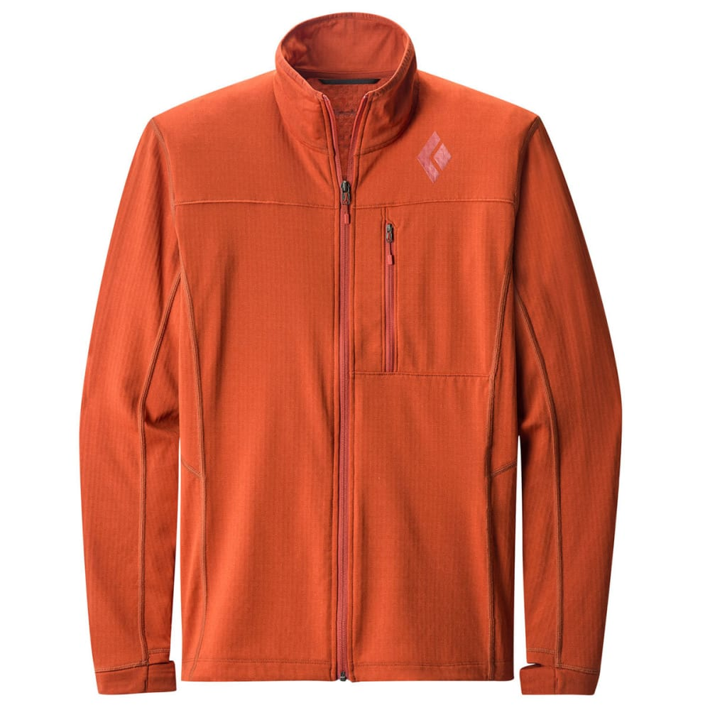 BLACK DIAMOND Men's Coefficient Fleece Jacket - RUST