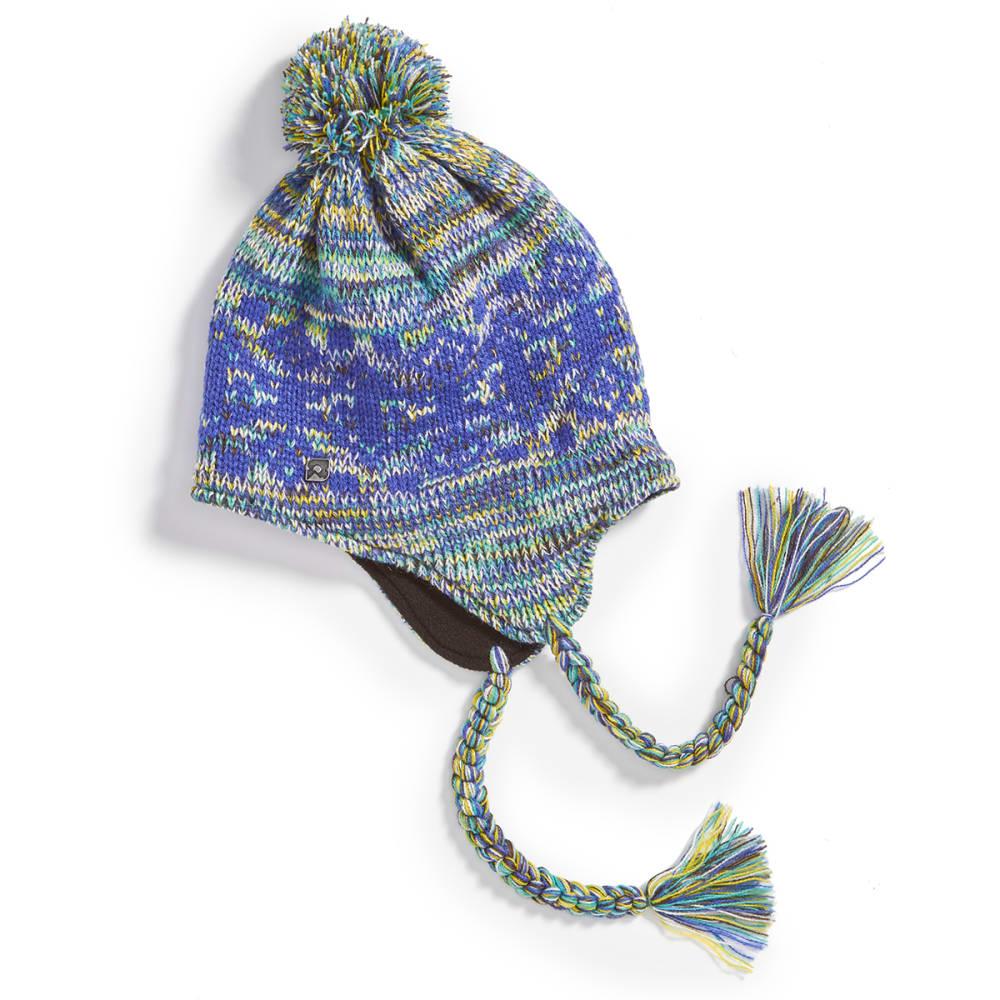 EMS Women's Fair Isle Peruvian Knit Cap - DEEP ULTRAMARINE