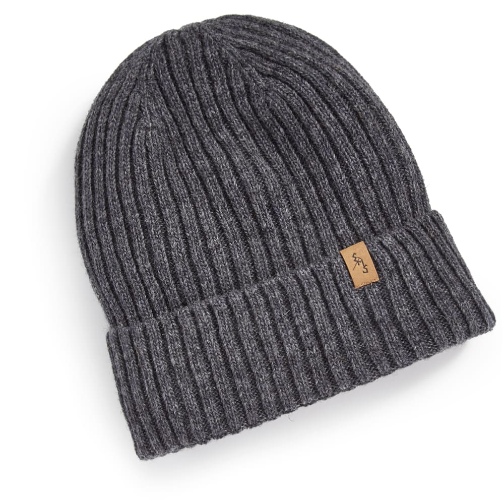 EMS Women's Rib Knit Beanie - NEUTRAL GRAY HTR