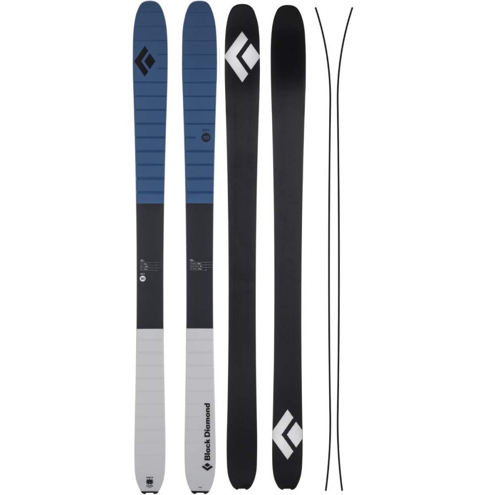 BLACK DIAMOND Route 105 Skis - DENIM