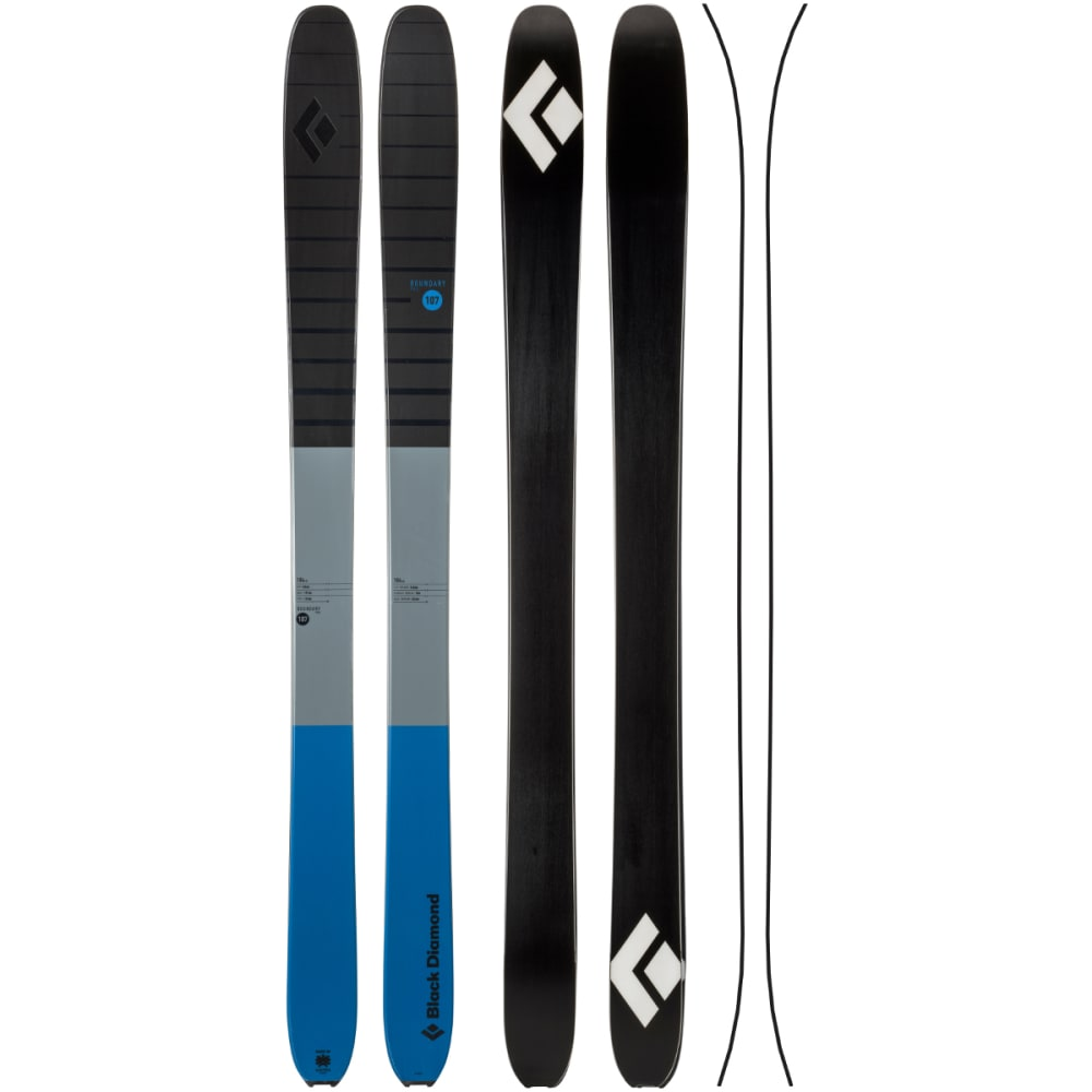 BLACK DIAMOND Boundary Pro 107 Ski, Denim - DENIM