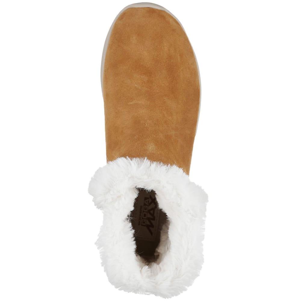 SKECHERS Women's On The Go City 2 – Bundle Chugga Boots, Chestnut - CHESTNUT