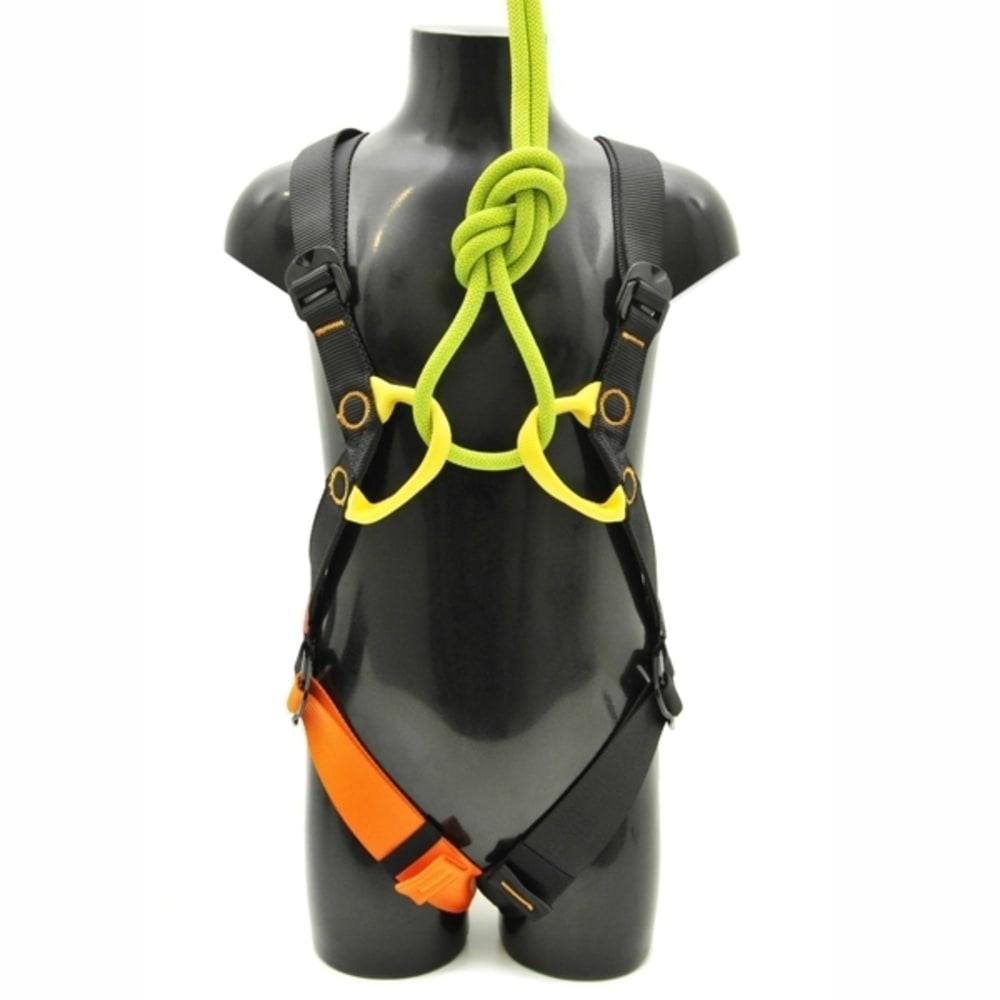 KONG Children's Gogo Harnesses - BLACK/ORANGE