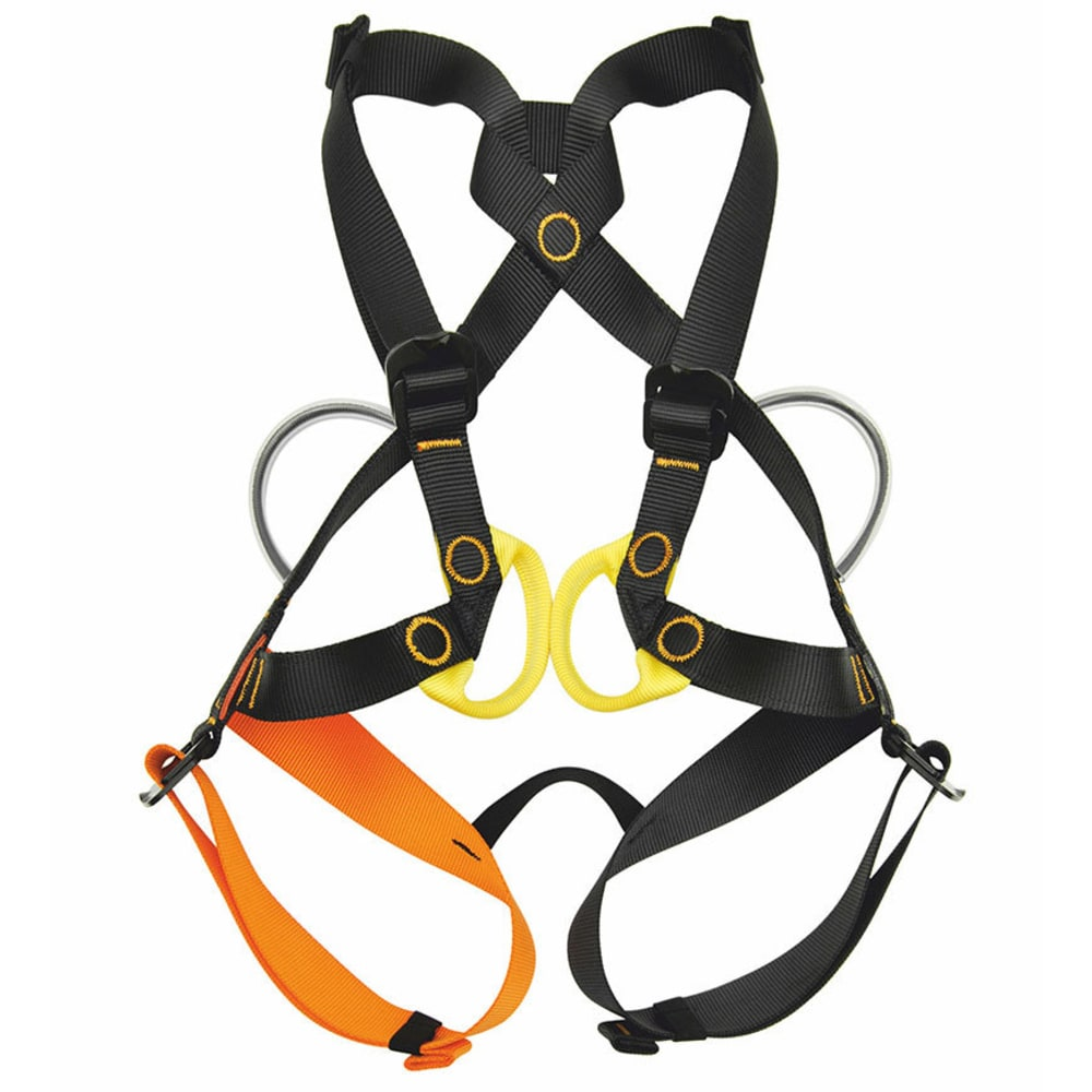 KONG Children's Gogo Harnesses - BLACK/ORANGE