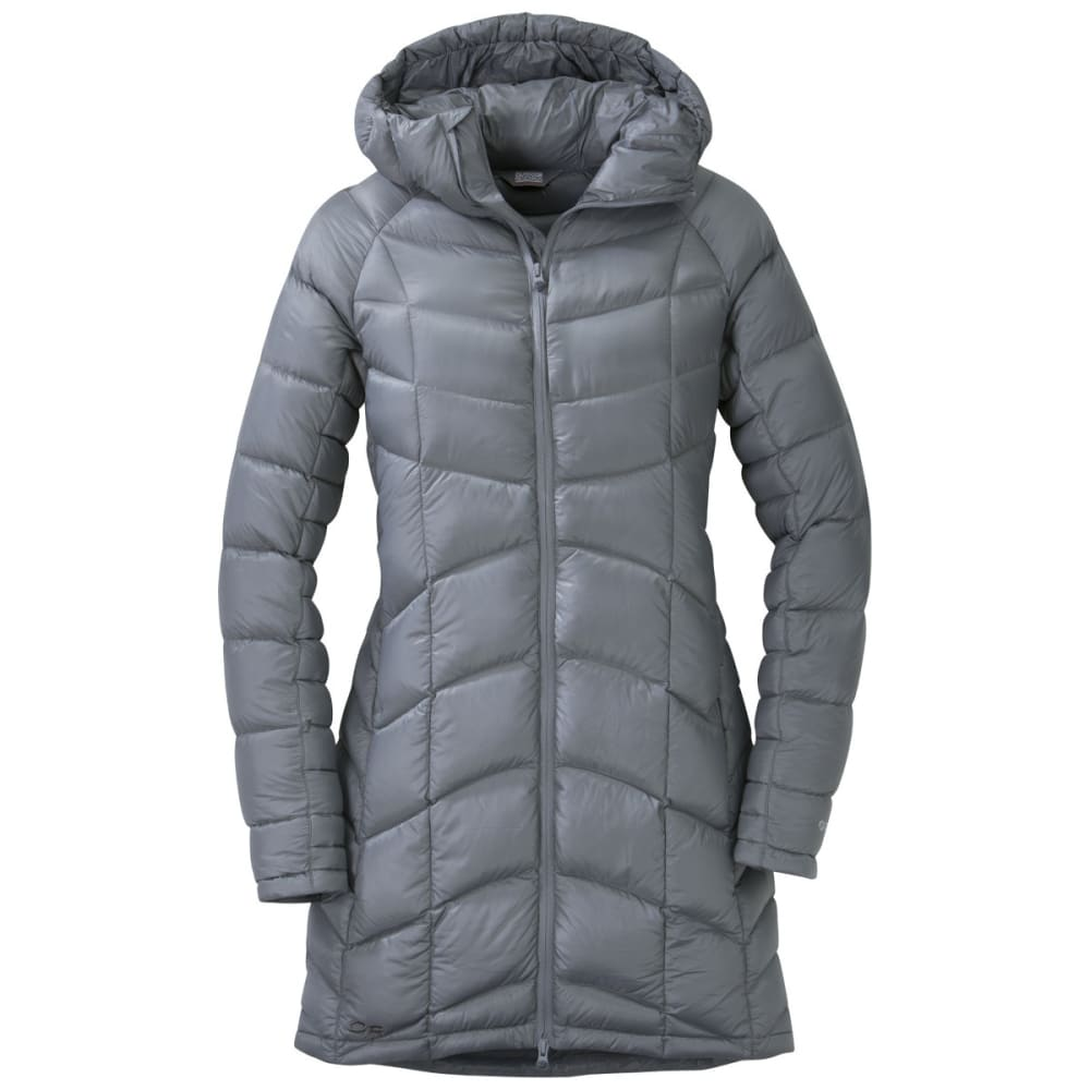 OUTDOOR RESEARCH Women's Sonata Ultra Down Parka - PEWTER