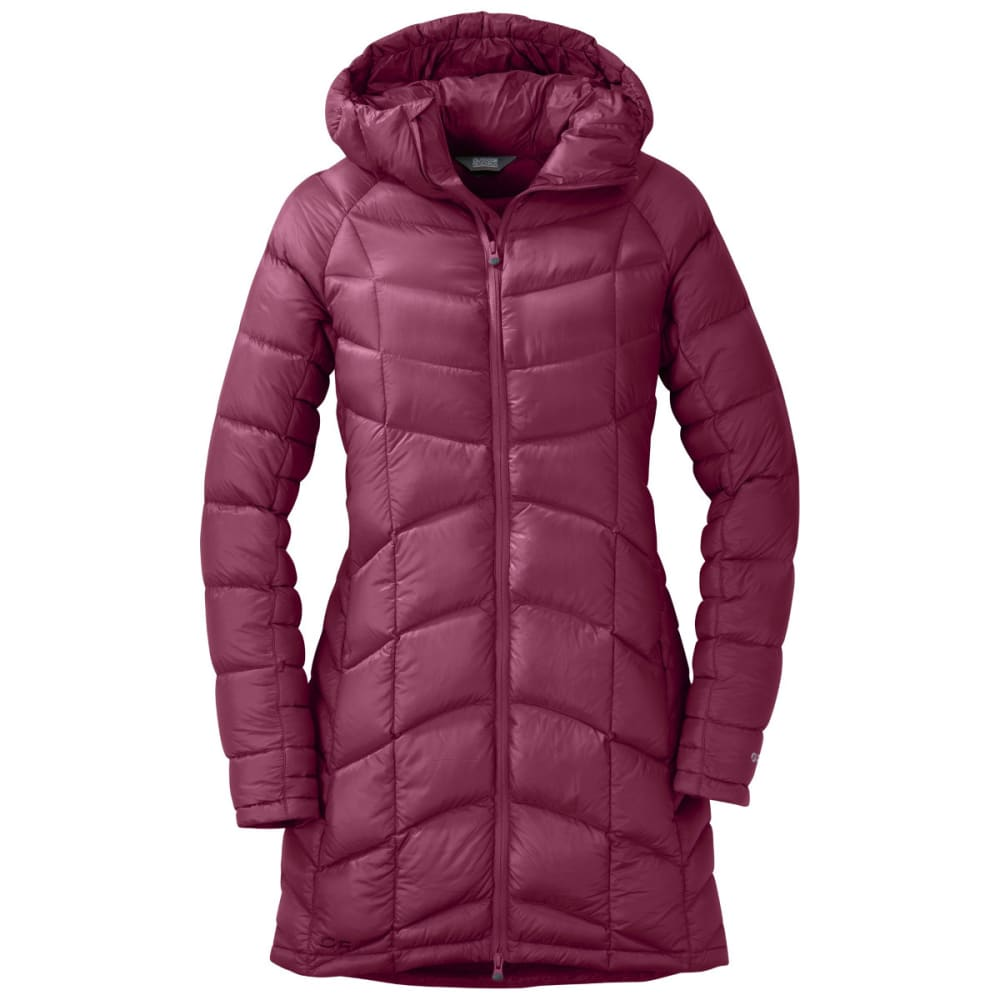 OUTDOOR RESEARCH Women's Sonata Ultra Down Parka - RASPBERRY