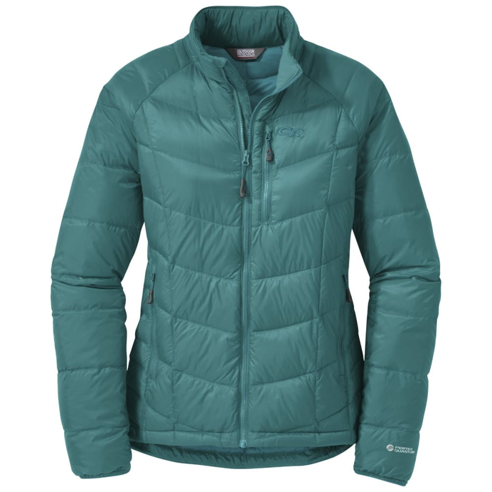 OUTDOOR RESEARCH Women's Sonata Down Jacket - ATLANTIS/SEA
