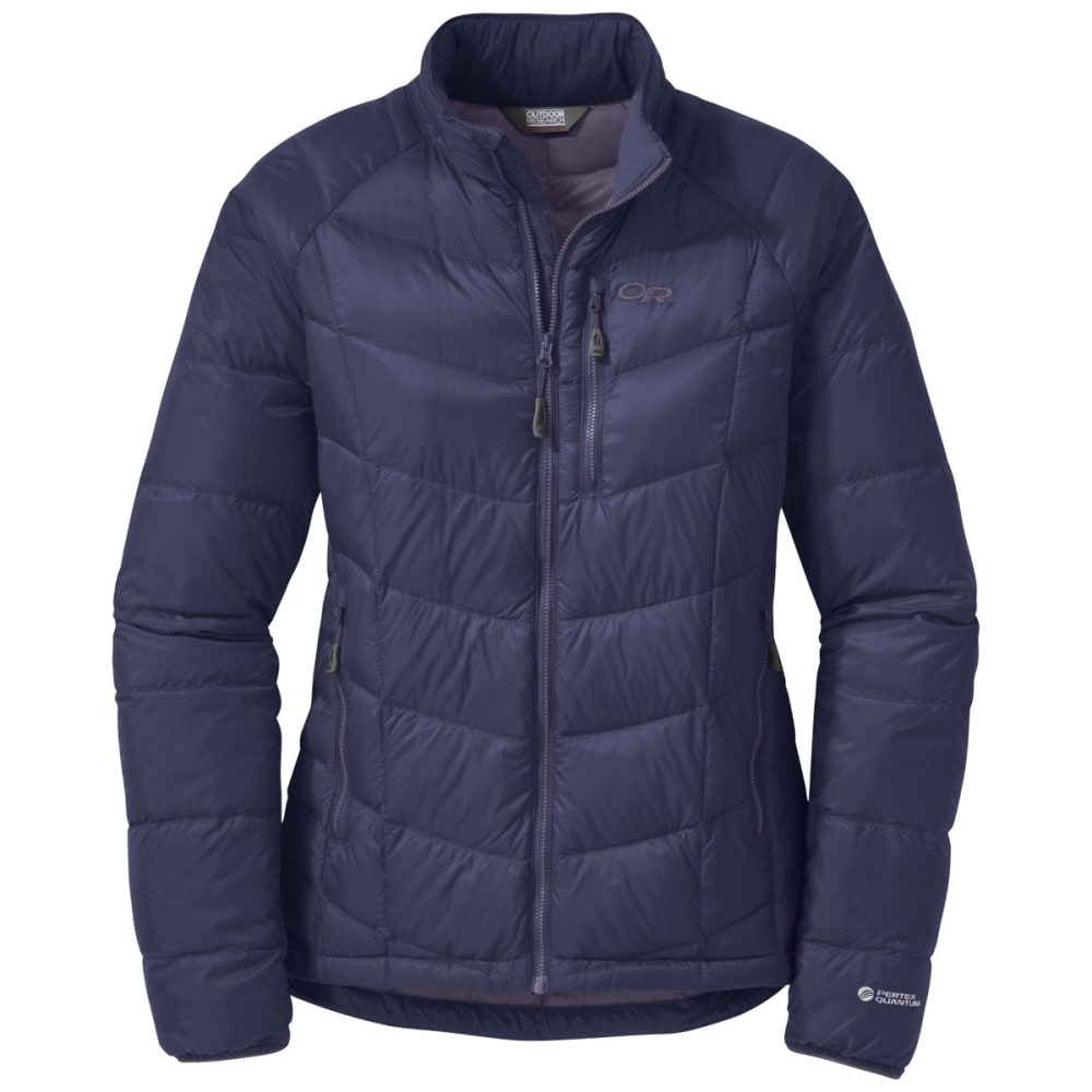 OUTDOOR RESEARCH Women's Sonata Down Jacket - BLUE VIOLET/FIG