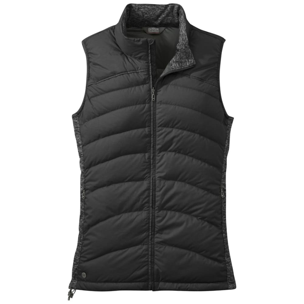 OUTDOOR RESEARCH Women's Plaza Down Vest - BLACK