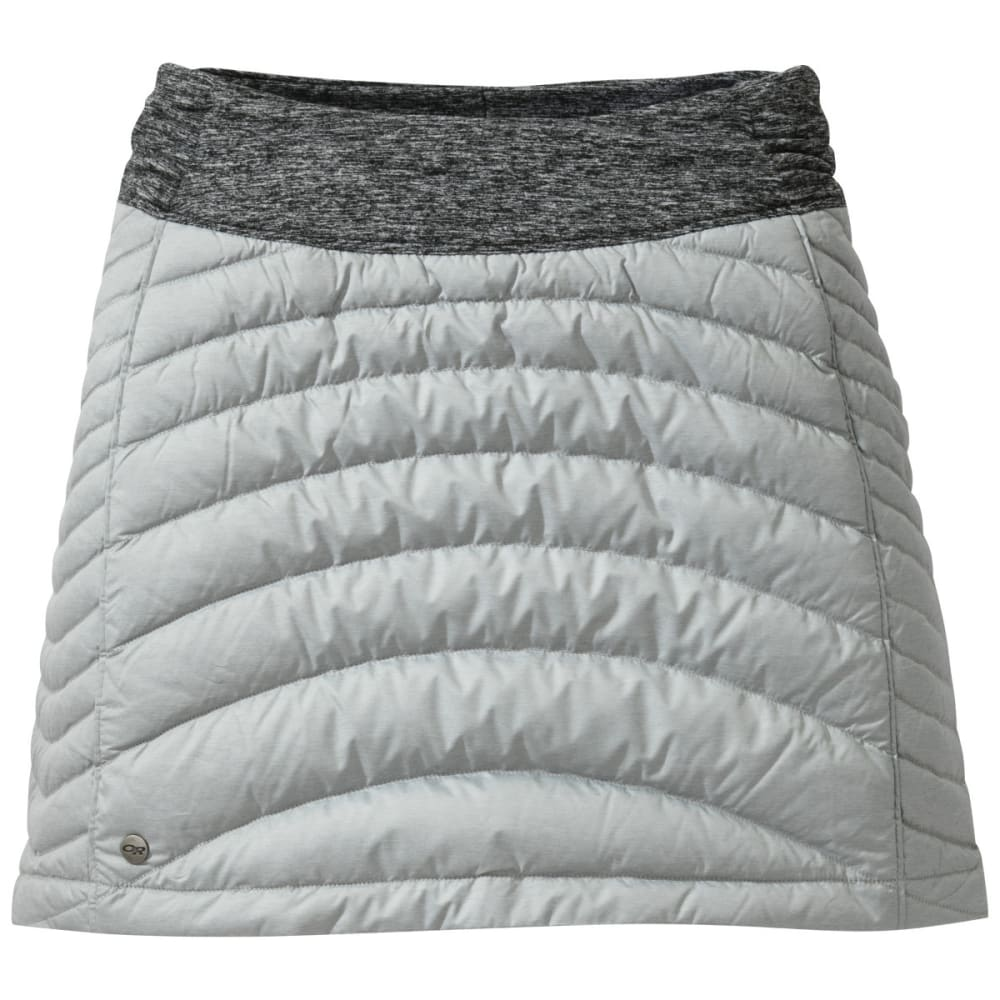 OUTDOOR RESEARCH Women's Plaza Down Skirt - ALLOY/BLACK
