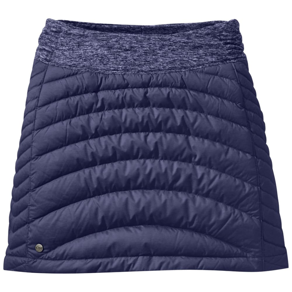 OUTDOOR RESEARCH Women's Plaza Down Skirt - BLUE VIOLET