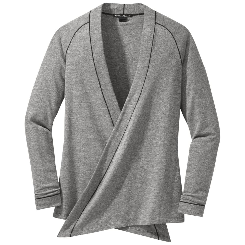 OUTDOOR RESEARCH Women's Athena Wrap Top - PEWTER