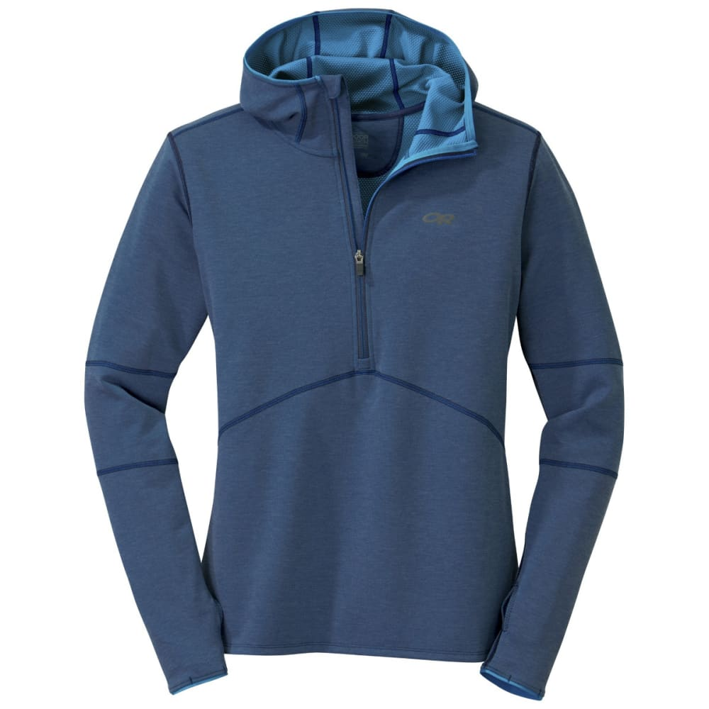 OUTDOOR RESEARCH Men's Shiftup Half Zip Hoody - NIGHT/TAHOE
