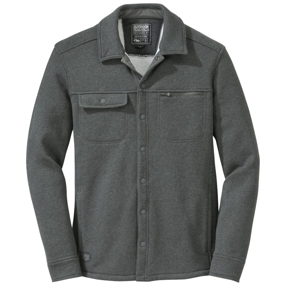 OUTDOOR RESEARCH Men's Revy Shirt - CHARCOAL