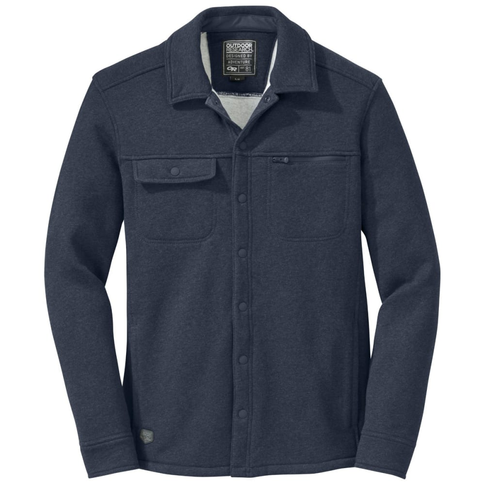 OUTDOOR RESEARCH Men's Revy Shirt - NIGHT