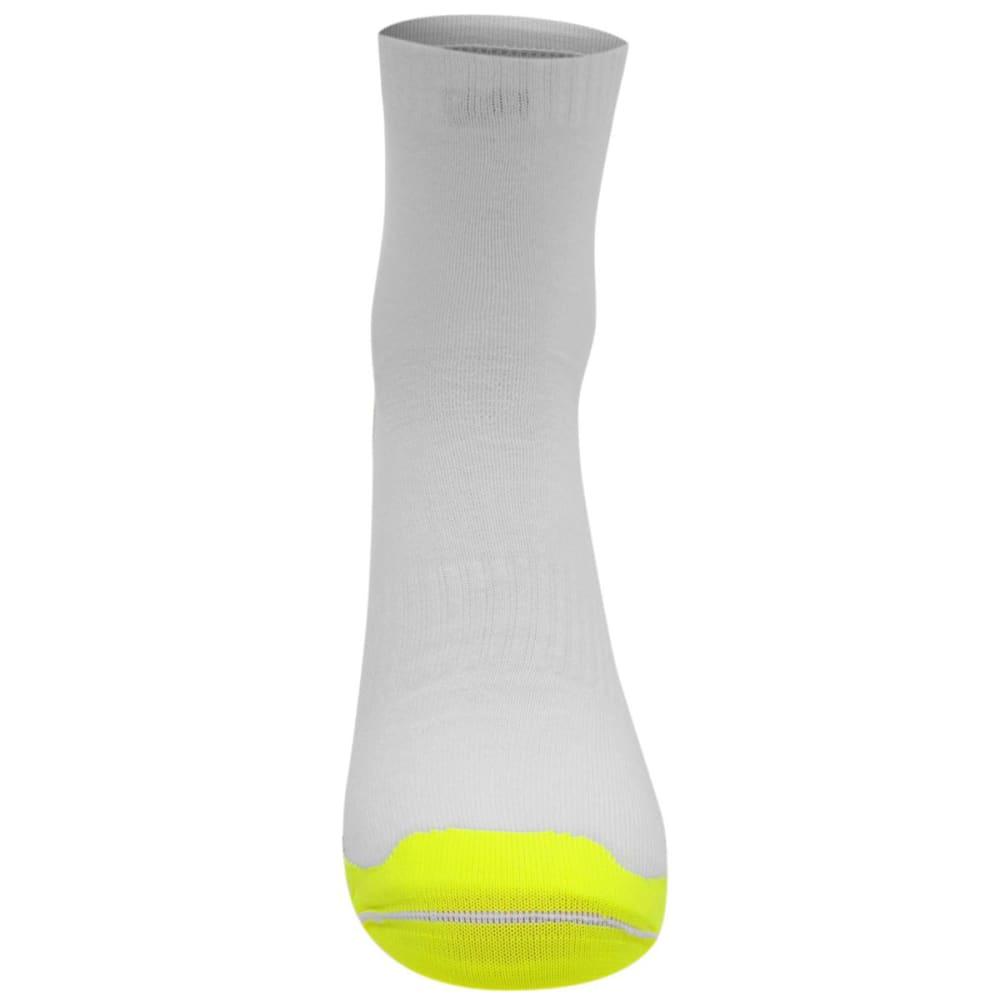 KARRIMOR Men's Duo Running Socks - WHITE/FLUO