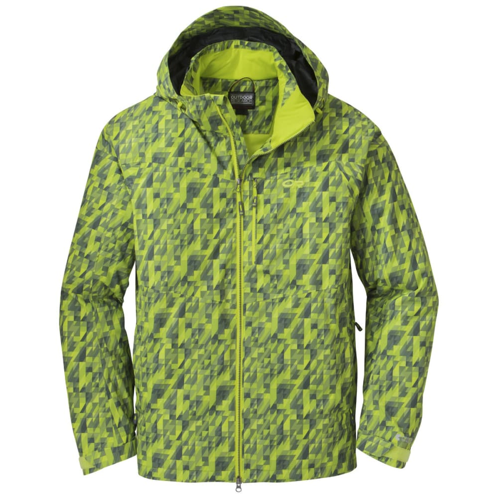 OUTDOOR RESEARCH Men's Igneo Jacket - LEMONGRASS PRINT