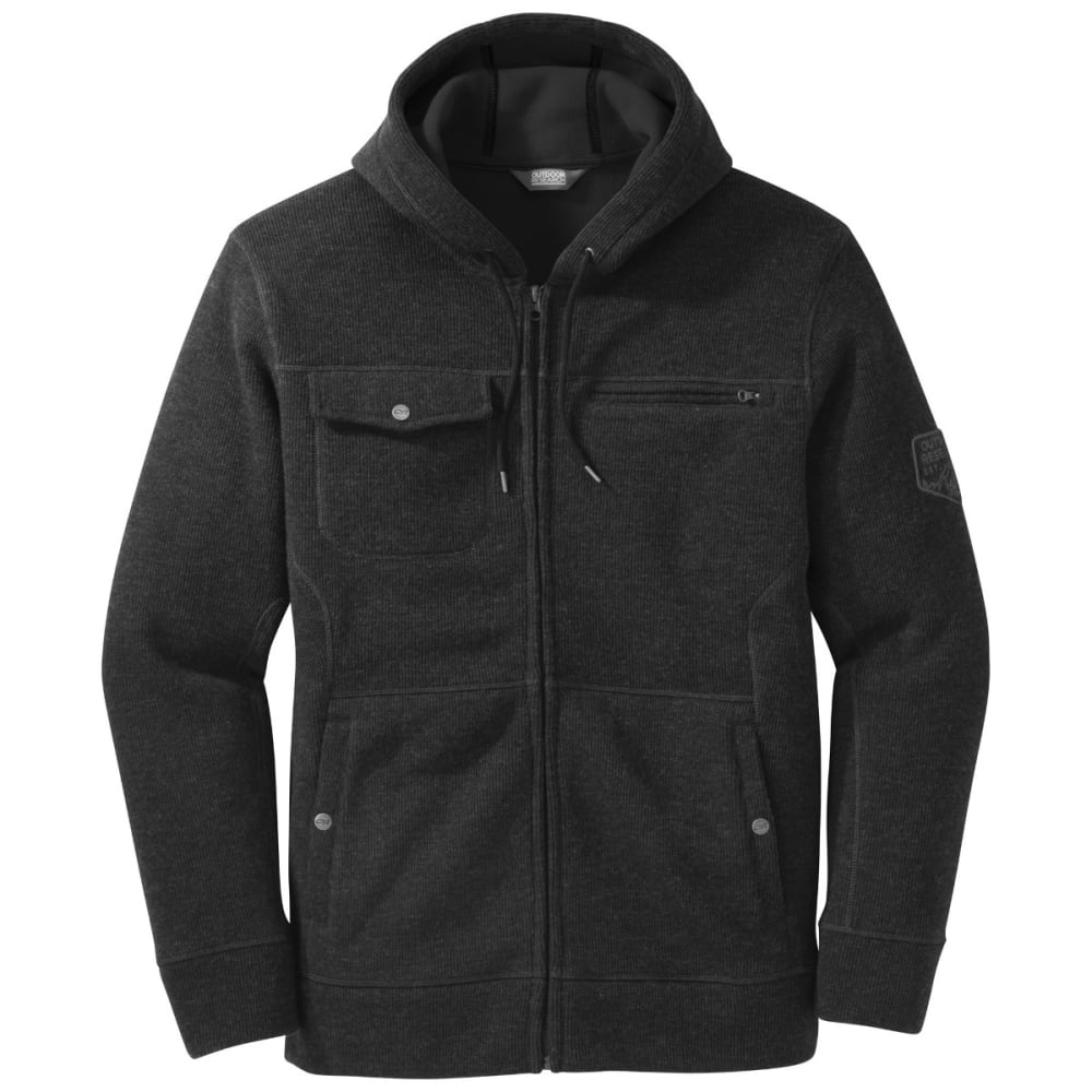OUTDOOR RESEARCH Men's Exit Crosstown Hoody - BLACK