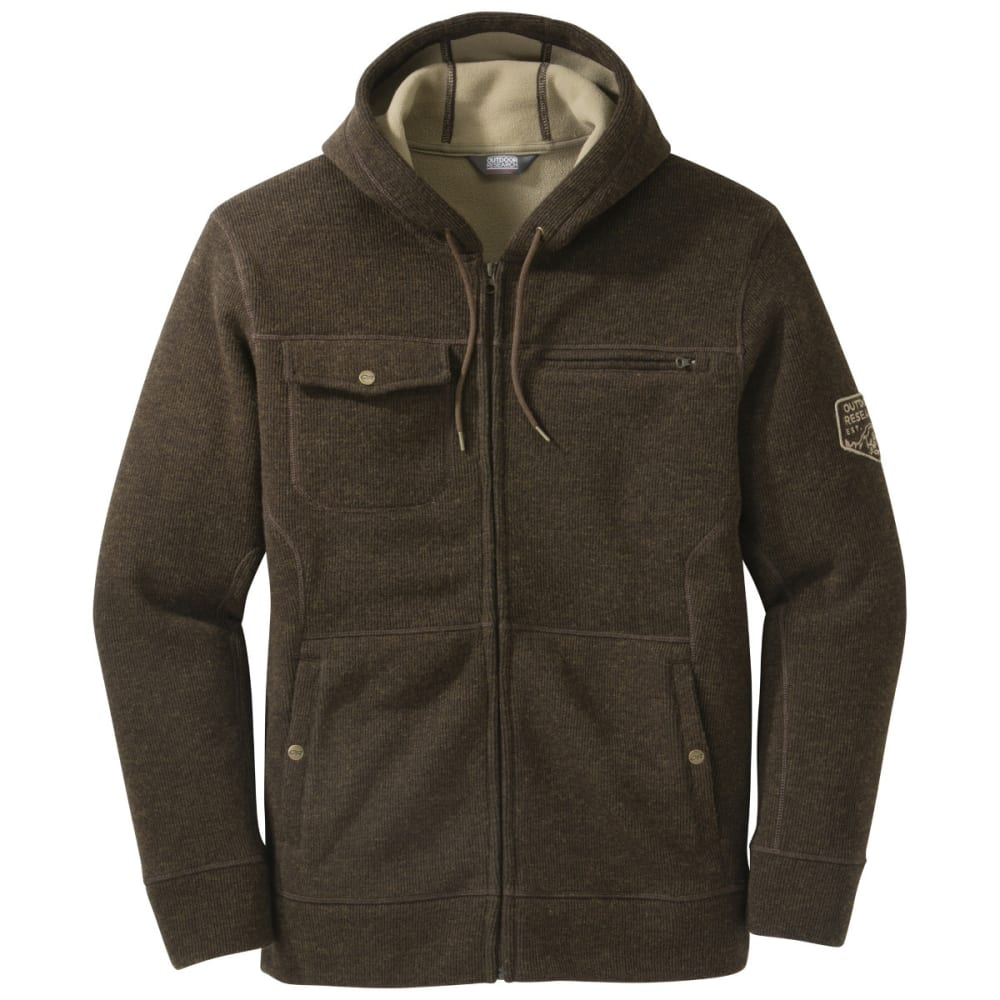 OUTDOOR RESEARCH Men's Exit Crosstown Hoody - EARTH