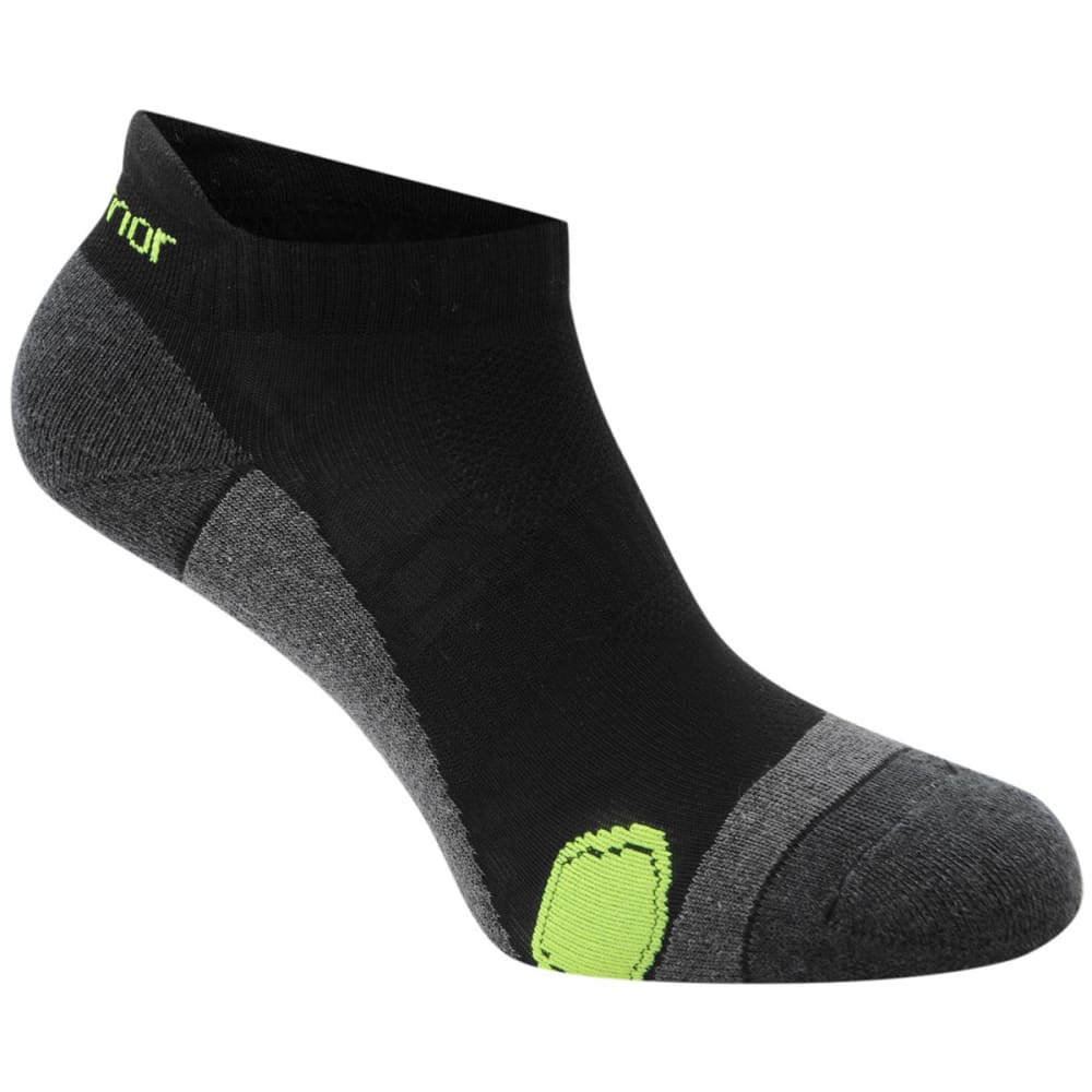KARRIMOR Men's Running Socks, 2 Pack - BLACK/FLUO