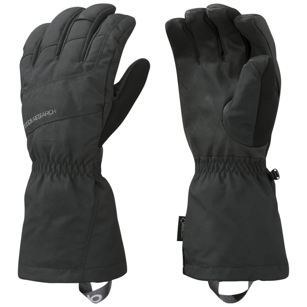 OUTDOOR RESEARCH Men's Couloir Gloves, Black - BLACK