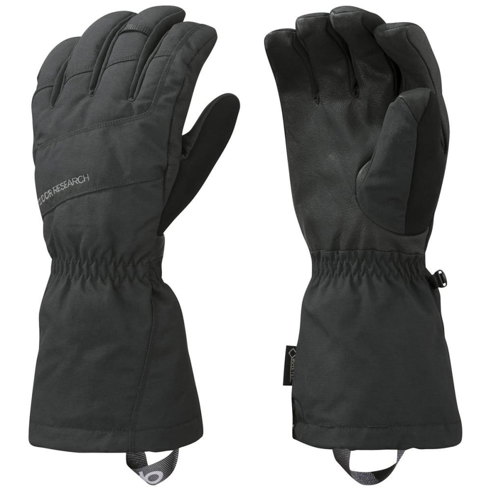 OUTDOOR RESEARCH Men's Couloir Gloves, Black - BLACK