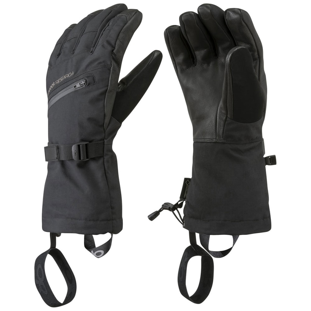 OUTDOOR RESEARCH Men's Southback Sensor Gloves - BLACK