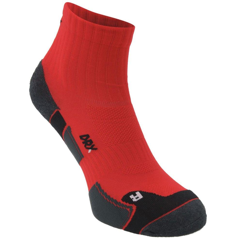 KARRIMOR Men's Dri Skin Running Socks, 2 Pack - RED/BLK
