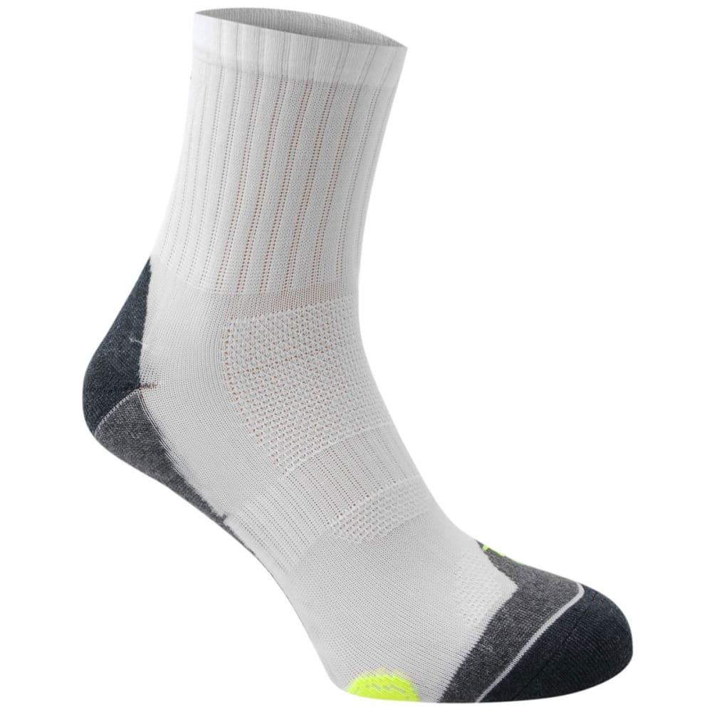 KARRIMOR Men's Dri Skin Running Socks, 2 Pack - WHT/FLUO