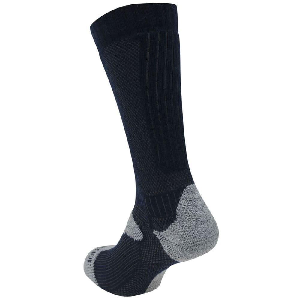 KARRIMOR Men's Merino Fiber Midweight Hiking Socks - NVY/GRY