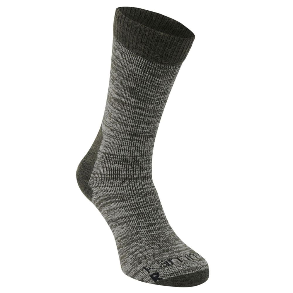 KARRIMOR Men's Merino Fiber Heavyweight Hiking Socks - KHAKI