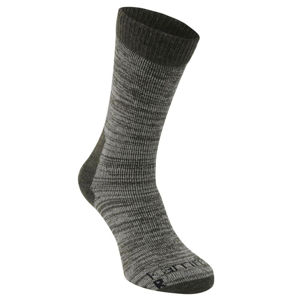 KARRIMOR Men's Merino Fiber Heavyweight Hiking Socks - KHAKI