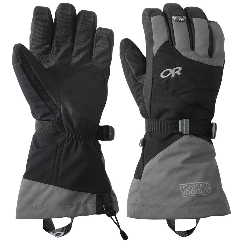 OUTDOOR RESEARCH Meteor Gloves - BLACK/CHARCOAL