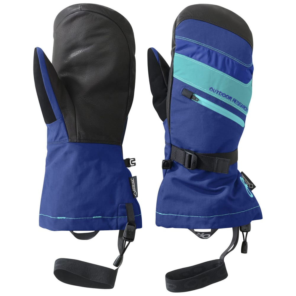 OUTDOOR RESEARCH Southback Mitts - BALTIC/TYPHOON