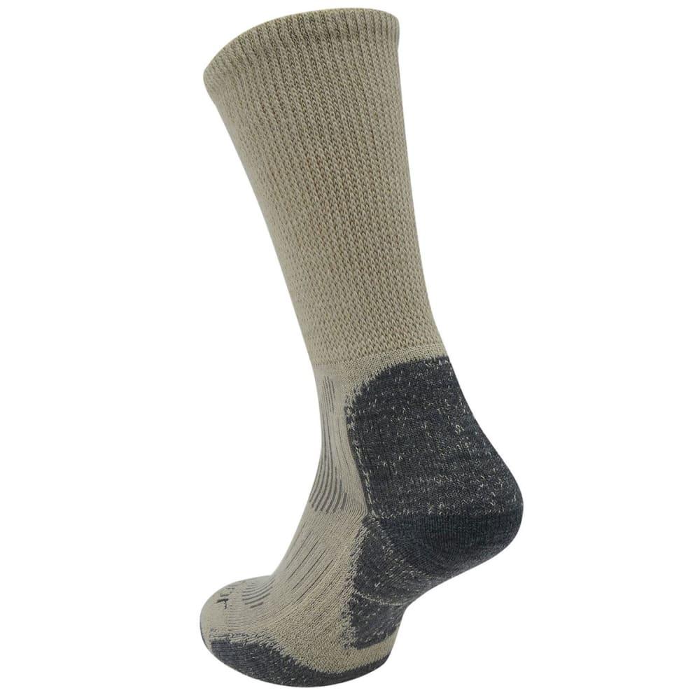 KARRIMOR Men's Merino Fiber Lightweight Hiking Socks - BEIGE/CHR