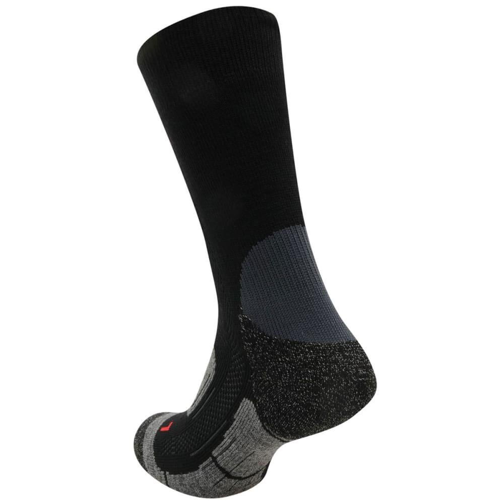 KARRIMOR Kids' Trekking Socks, 2 Pack - BLACK