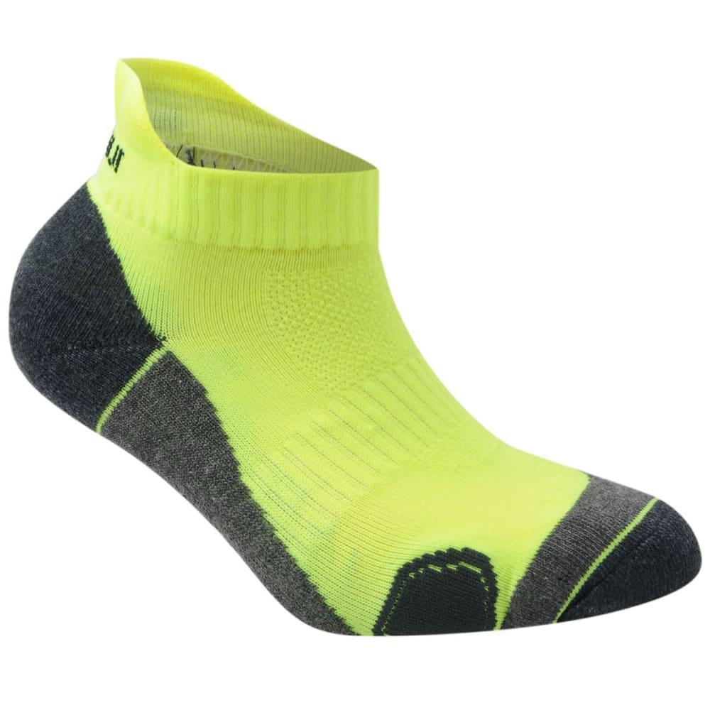 KARRIMOR Kids' Running Socks, 2 Pack - FLORESSENT YELLOW