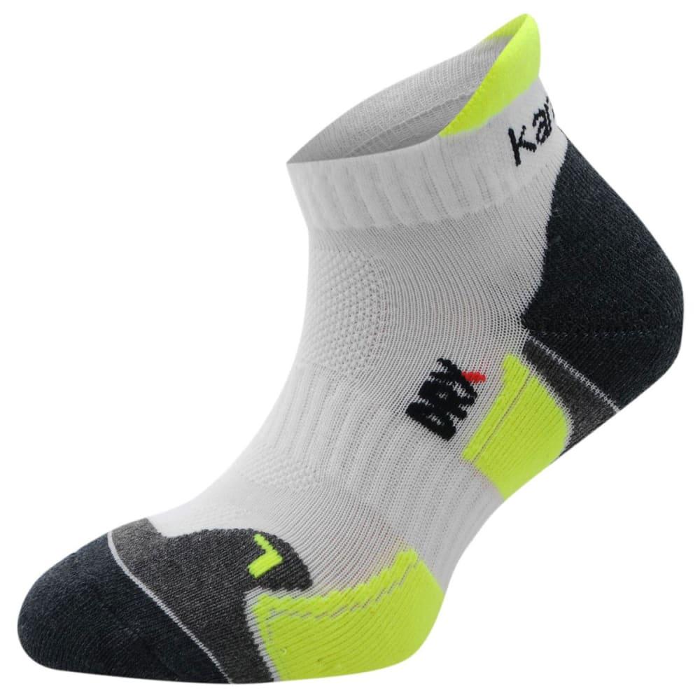 KARRIMOR Kids' Running Socks, 2 Pack - WHT/FLUO