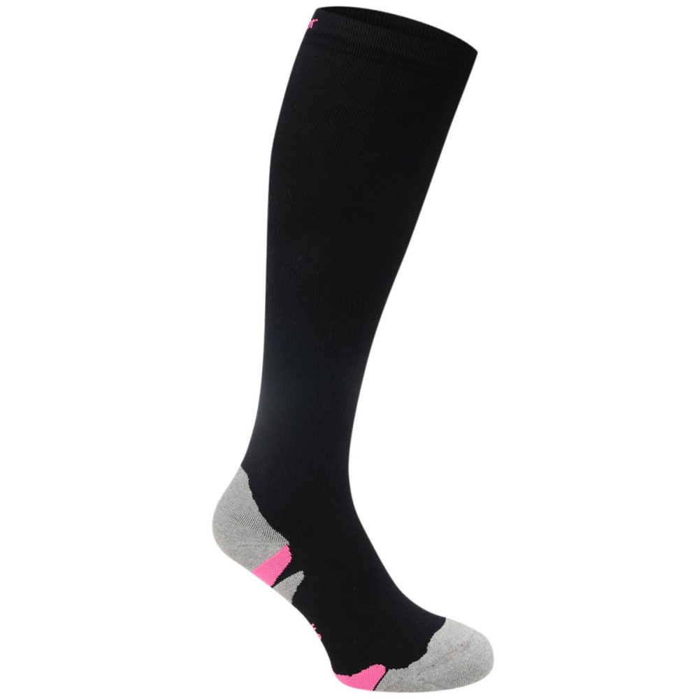 KARRIMOR Women's Compression Running Socks - BLACK