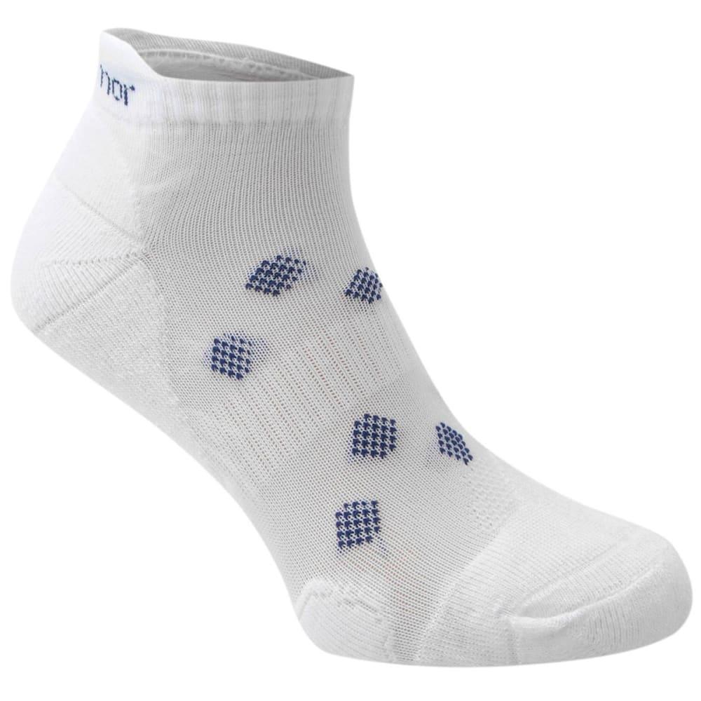 KARRIMOR Women's Running Socks, 2 Pack - WHITE
