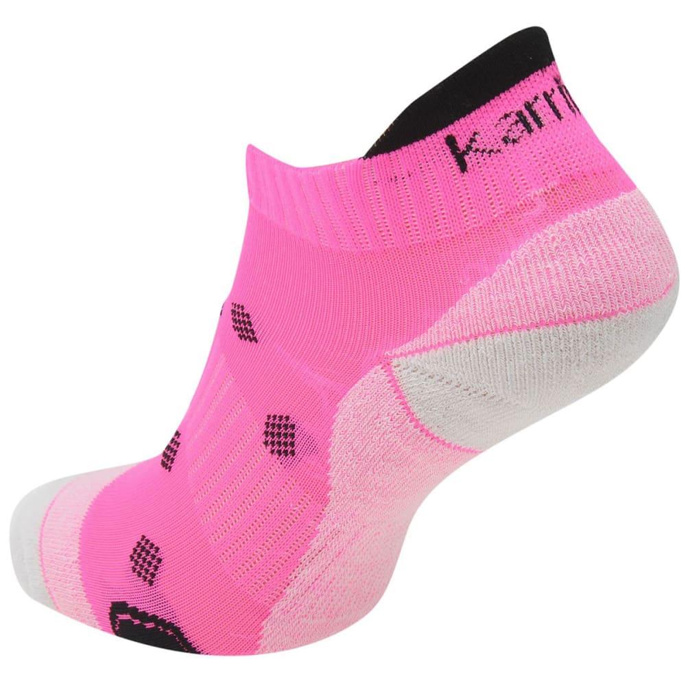 KARRIMOR Women's Running Socks, 2 Pack - BRIGHT PINK