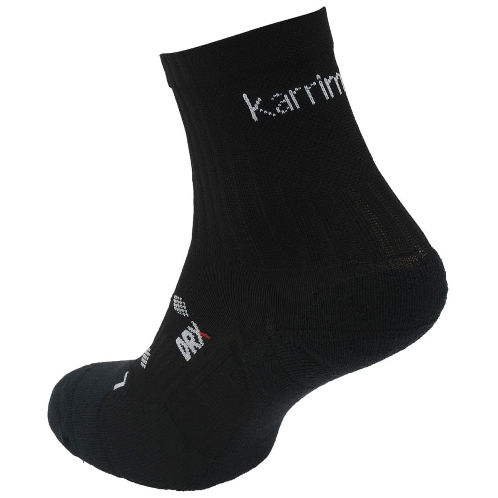 KARRIMOR Women's Quarter Running Socks, 2 pack - BLACK