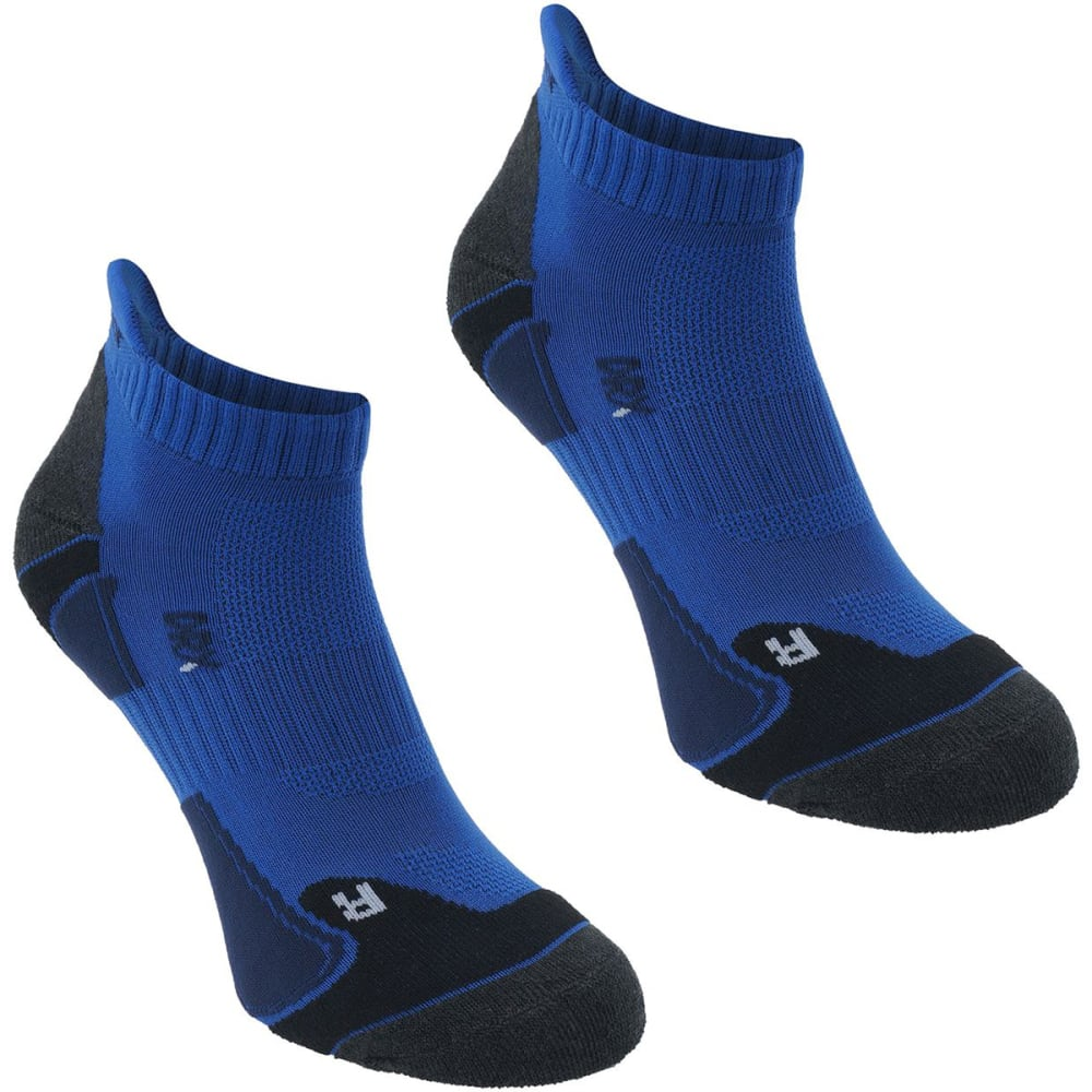 KARRIMOR Men's Running Socks, 2 Pack - BLUE/NVY